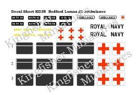 Bedford J1 Lomas Ambulance